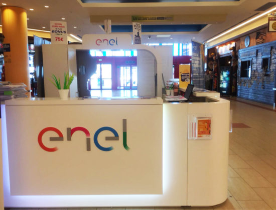 Corner Enel Auchan Casamassima (Ba)